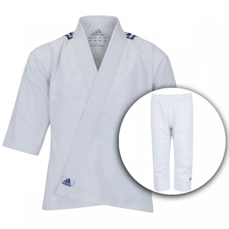 eb4ed3833 Kimono de Judô Adidas Evolution Infantil com Faixa. Passe ...
