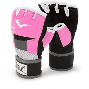 luva bandagem gel rosa pink