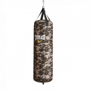 Saco de Pancadas Everlast Camuflado Boxe Muay Thai