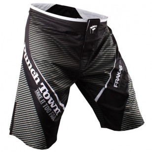 Bermuda Fightshort PunchTown Carbon