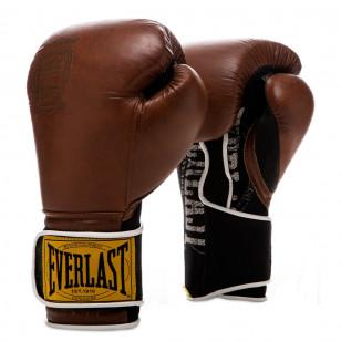 Luva Boxe Muay Thai Everlast Couro Classic 1910