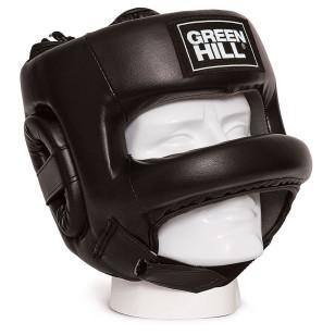 capacete protetor cabeça grade green hill couro