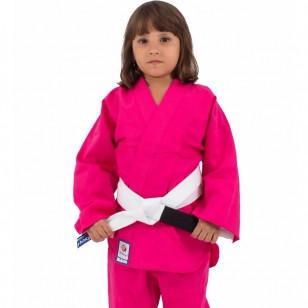 Kimono judo infantil rosa torah