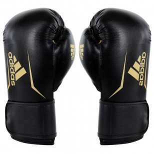 Luva Adidas Boxe Muay Thai Preta