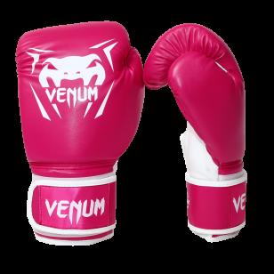 Luva Boxe Muay Thai Venum Contender Rosa Feminina