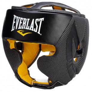 Protetor Cabeça Capacete MMA Boxe Muay Thai Everlast Pro