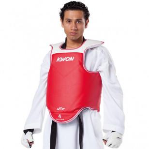 protetor torax aprovado wtf taekwondo