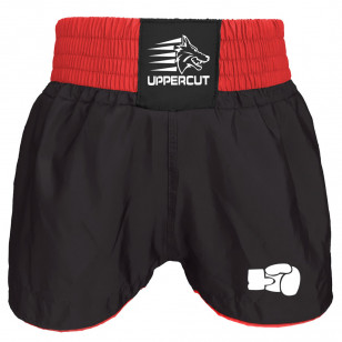 Short Muay Thai Kickboxing Preto